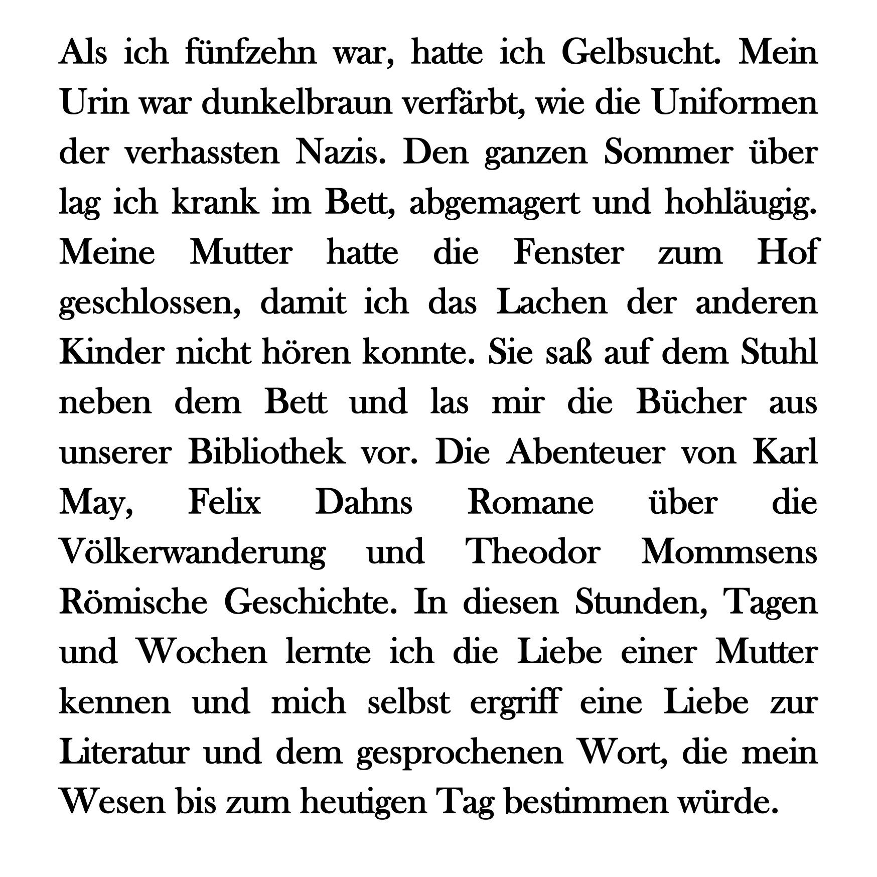 Bernhard Schlink: Der Vorleser