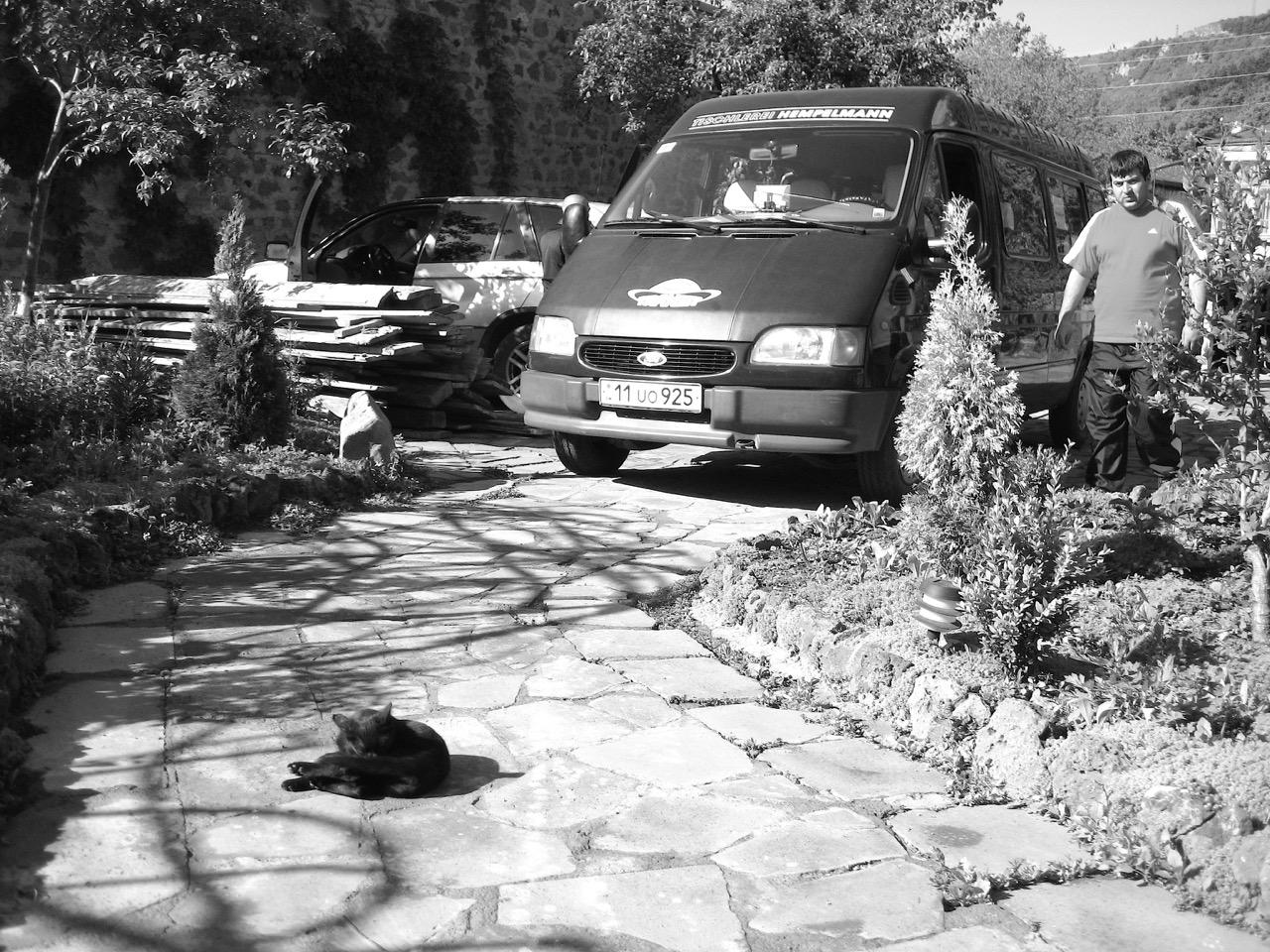 Foto: Hempelmann. Aus: Eriwan. Kapitel 4. Aufzeichnungen aus Armenien von Marc Degens.