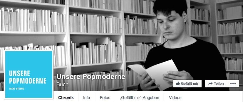 Unsere Popmoderne (Facebook)